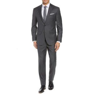 Ted Baker London | Gray Wool 2 Piece Suit 40R
